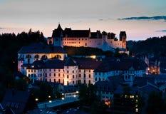 修道院城堡fussen mang s st 库存图片