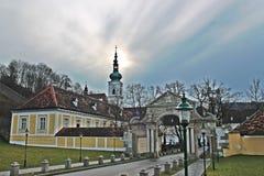 修道院奥地利 库存图片