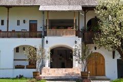 修道院尼姑正统罗马尼亚房间 库存图片