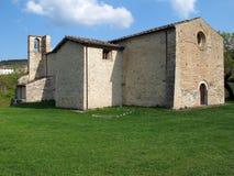 修道院意大利piobbico 免版税库存图片
