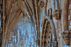 修道院或Hieronymites的建筑学细节 库存图片
