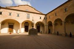 修道院托斯卡纳 免版税库存照片
