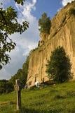 修道院掠夺石头 免版税库存照片