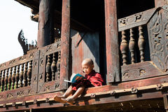 修道院教育 图库摄影