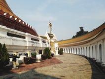 修道院是佛教建筑学的一部分 免版税库存图片