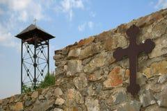 修道院正统塞尔维亚巴尔干 免版税图库摄影