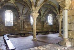 修道院的一间屋子 免版税库存照片