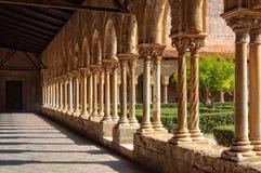 修道院的修道院-蒙雷阿莱 库存照片
