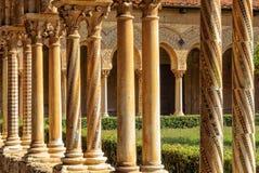 修道院的修道院-蒙雷阿莱 免版税库存图片
