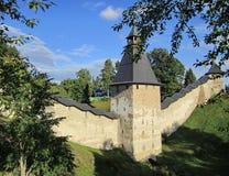 修道院的墙壁 免版税库存图片