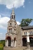 修道院的庭院 库存照片