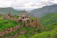 修道院神圣的tatev 免版税图库摄影