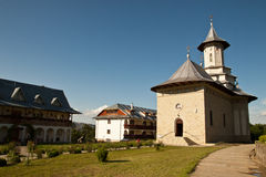 修道院罗马尼亚语 免版税库存图片