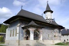 修道院罗马尼亚sucevita 库存图片