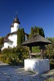 修道院罗马尼亚varatec 库存图片