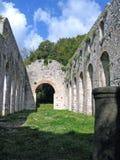 修道院老废墟 库存图片