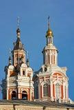 修道院莫斯科zaikonospassky的俄国 库存照片