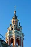 修道院莫斯科zaikonospassky的俄国 免版税库存照片