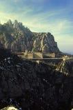 修道院蒙特塞拉特岛 免版税图库摄影