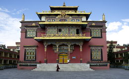 修道院藏语 免版税图库摄影