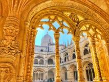 修道院西班牙 免版税库存图片