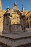 修道院西班牙ucles 库存照片
