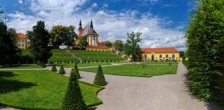 修道院诺伊策莱,勃兰登堡,德国 图库摄影