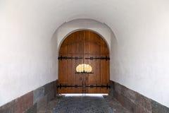 修道院门,俄国 免版税库存图片