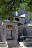 修道院门  免版税库存图片