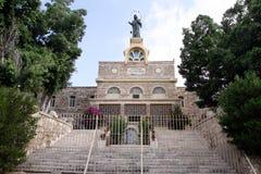 修道院雷日纳Palestina 免版税图库摄影