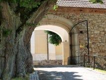 修道院, Kostelni Vydri 图库摄影