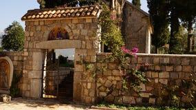修道院黑山 库存图片