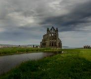 修道院- Whitby 免版税库存照片