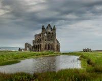 修道院- Whitby 图库摄影