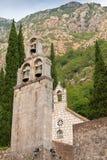 修道院Banja。里桑,黑山 库存图片