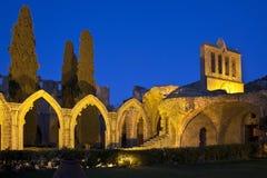 修道院bellapais塞浦路斯土耳其 库存照片