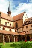 修道院bronnbach 库存照片