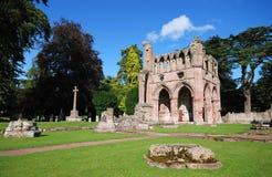 修道院dryburgh 库存照片