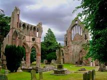 修道院dryburgh 免版税库存照片