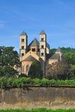 修道院eifel德国laach玛丽亚 图库摄影