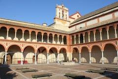 修道院el pedro实际圣 免版税图库摄影