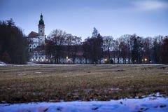 修道院Furstenfeldbruck 免版税库存图片