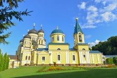 修道院Hincu,摩尔多瓦 免版税库存照片