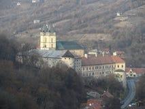 修道院Hronsky Benadik,斯洛伐克 库存图片