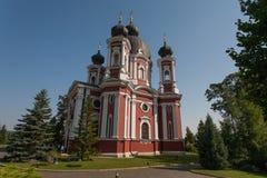 修道院Kurki,摩尔多瓦 库存照片