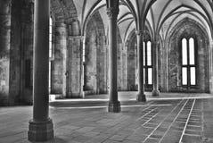 修道院michel mont圣徒 库存照片