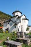 修道院montenegro moraca 图库摄影