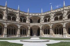 修道院Mosteiro dos Jeronimos 免版税库存照片