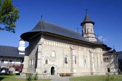 修道院neamt罗马尼亚 库存照片
