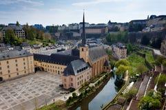 修道院Neumunster卢森堡 免版税库存照片